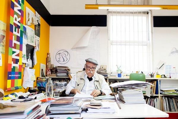 家具设计师sérgio rodrigues和他的工作室_工业设计图片