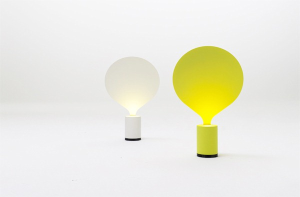 德国产品设计师uli budde的气球创意台灯