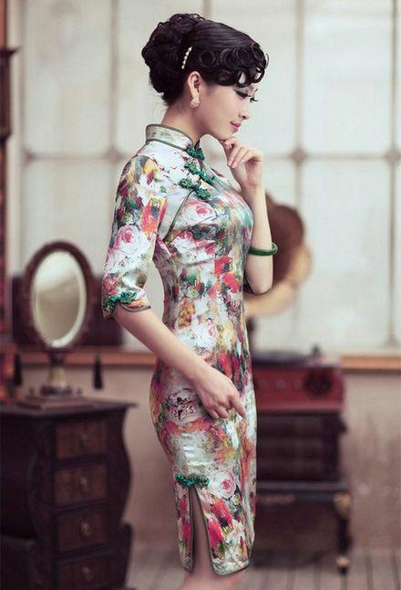 旗袍,中国式的妖娆