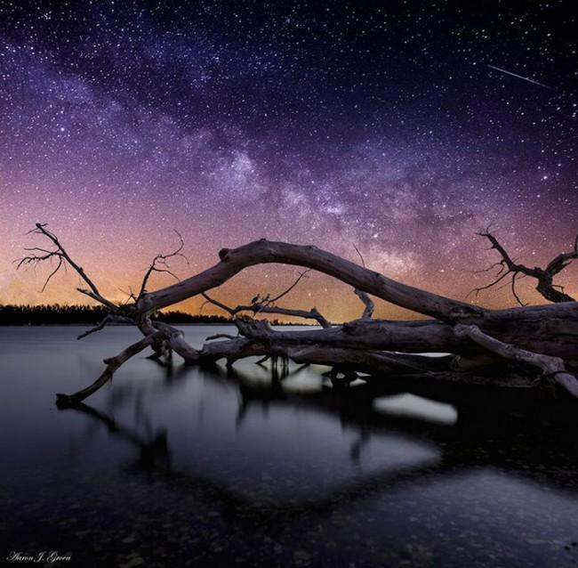 自然风情:遥远的星系景观_创意生活