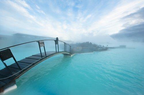冰岛蓝湖,浅蓝色的世界